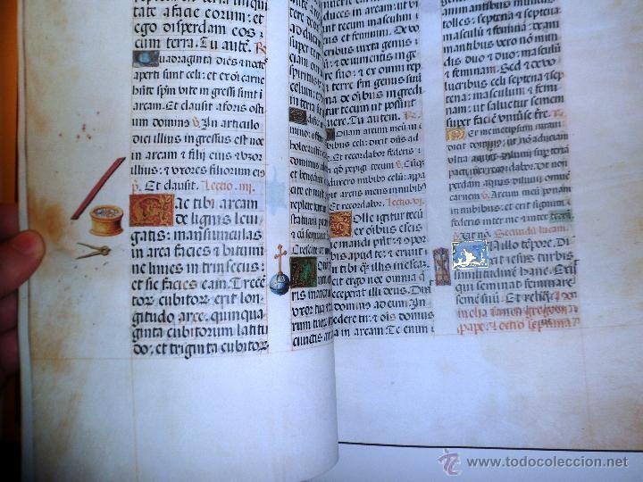 Libros de segunda mano: LIVRO DE HORAS DA CONDESSA DE BRETIANDOS. FACSÍMIL. NUMERADO Y ACTA NOTARIAL. - Foto 7 - 39549453