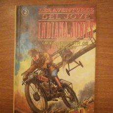 Libros de segunda mano: LES AVENTURAS DEL JUVE INDIANA JONES -LA CARRETERA DE L´INFERN . Lote 39561683