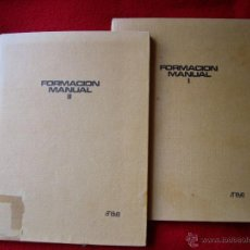 Libros de segunda mano: FORMACION MANUAL I Y FORMACION MANUAL II - ANAYA 1969 -. Lote 39564490
