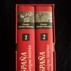 Libros de segunda mano: ESPAÑA ENIGMA HISTORICO. CLAUDIO SANCHEZ ALBORNOZ. EDHASA. 2 TOMOS. 1515 PAG DHASA, BARCELONA, 2004. Lote 81228244