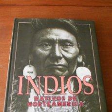 Libros de segunda mano: INDIOS NATIVOS DE NORTEAMERICA (FRANZ BERMAN) ED. ULTRAMAR 30 X 25 CM. TAPA DURA CON SOBRECUBIERTA. Lote 39668800