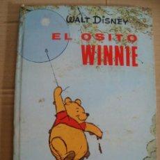 Libros de segunda mano: WALT DISNEY - EL OSITO WINNIE - GAISA 1968 - MILNE - PELICULAS FAMOSAS - TAPA DURA- SIN USO . Lote 39636862