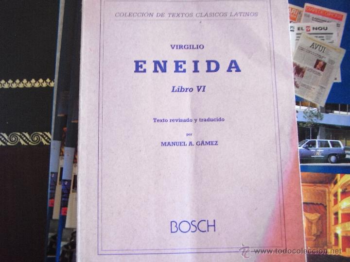 ENEIDA. LIBRO VI. VIRGILIO (Libros de Segunda Mano (posteriores a 1936) - Literatura - Otros)