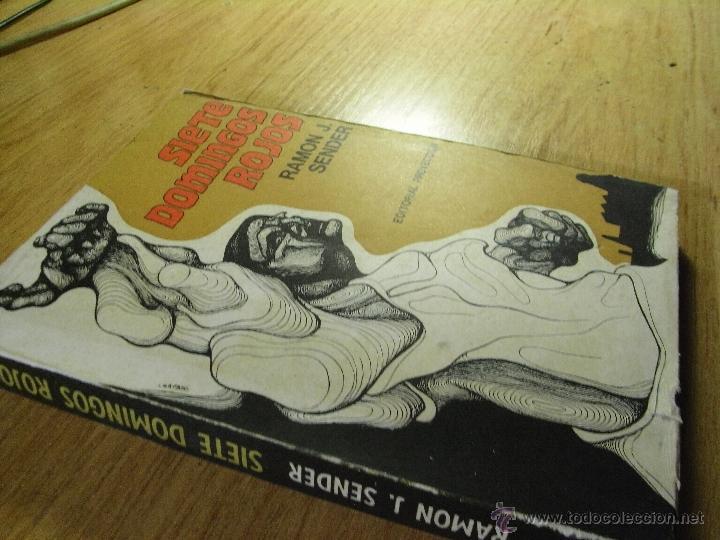 Libros de segunda mano: SIETE DOMINGOS ROJOS – RAMÓN J SÉNDER - ED. PROYECCIÓN . Buenos Aires. 1970. - Foto 2 - 39653891