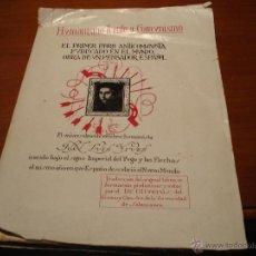 Libros de segunda mano: HUMANISMO FRENTE A COMUNISMO LIBRO ANTICOMUNISTA 1937. Lote 39668780