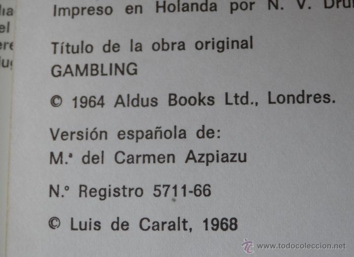Libros de segunda mano: EL juego - Alan Wykes (1968) ¡Impecable! - Foto 2 - 39669194