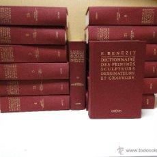 Libros de segunda mano: BENEZIT - DICTIONNAIRE CRITIQUE ET DOCUMENTAIRE DES PEINTRES, SCULPTEUR, DESSINATEURS ET GRAVEURS DE. Lote 39708457