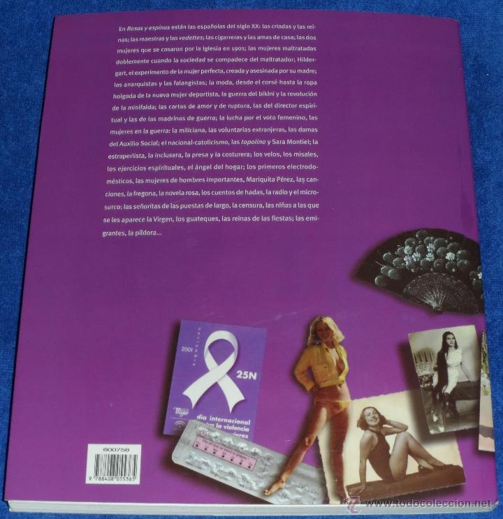 Libros de segunda mano: Rosas y Espinas - Angela Carmona - Planeta (2004) - Foto 5 - 39712017