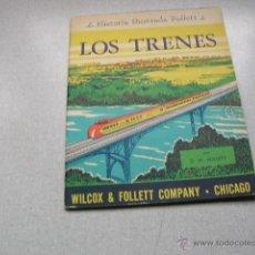 Libros de segunda mano: MUY INTERESANTE LIBRITO LOS TRENES. Lote 39720748