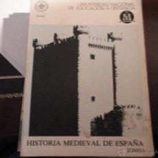 Libros de segunda mano: HISTORIA MEDIEVAL DE ESPAÑA. UNED (2 VOLS). Lote 39723492