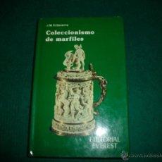 Libros de segunda mano: COLECCIONISMO DE MARFILES. Lote 39792482