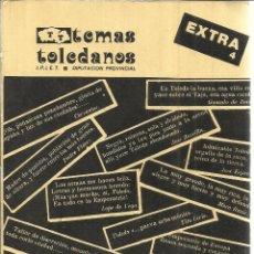 Libros de segunda mano: TOLEDO EN LA LITERATURA. LUIS MORENO NIETO. DIPUTACIÓN PROVINCIAL DEL TOLEDO. 1983. Lote 39821967