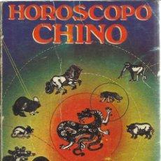 Libros de segunda mano: HOROSCOPO CHINO. MUNDOVISION. HORACIO.. Lote 39839426