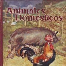 Libros de segunda mano: AGUILA, GENARO DEL: ANIMALES DOMESTICOS. ILUSTR. POR J. LLAVERÍAS.. Lote 39838804