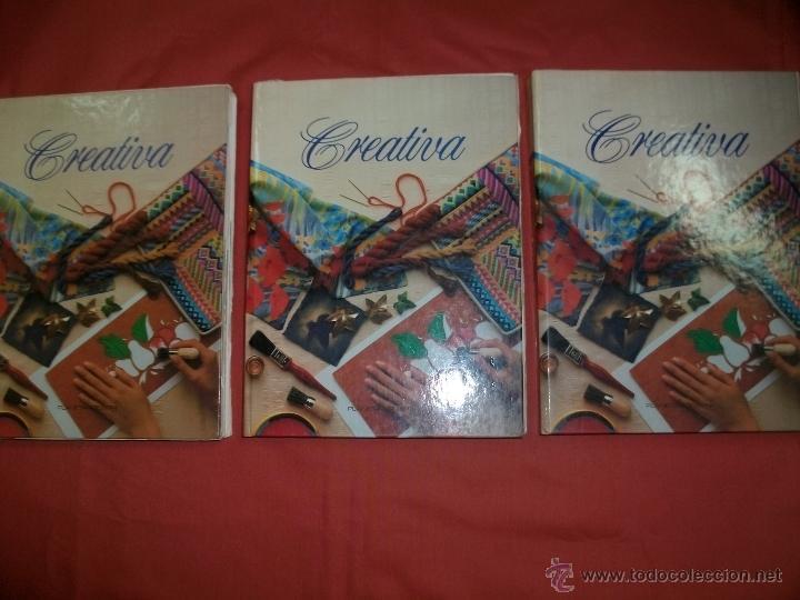 ENCICLOPEDIA DE MANUALIDADES CREATIVA PLANETA AGOSTINI (Libros de Segunda Mano - Bellas artes, ocio y coleccionismo - Otros)
