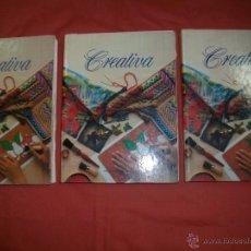 Libros de segunda mano: ENCICLOPEDIA DE MANUALIDADES CREATIVA PLANETA AGOSTINI. Lote 39844704