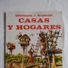 Libros de segunda mano: INFORMACION Y RESPUESTAS. CASAS Y HOGARES. EDICIONES PLESA.. Lote 39906749