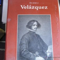Libros de segunda mano: EN TORNO A VELÁZQUEZ.. Lote 39860968
