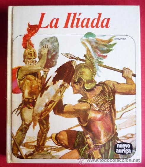 LA ILIADA .HOMERO .NUEVO AURIGA 1983 Nº19 FOTOS ADICIONALES (Libros de Segunda Mano - Literatura Infantil y Juvenil - Otros)