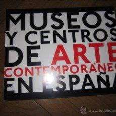 Libros de segunda mano: MUSEOS Y CENTROS DE ARTE CONTEMPORÁNEO EN ESPAÑA, EXIT PUBLICACIONES (PLASTIFICADO SIN ABRIR). Lote 171078344