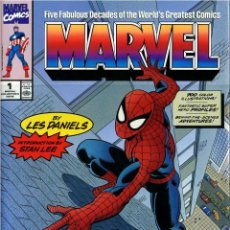 Libros de segunda mano: FIVE FABULOUS DECADES OF MARVEL COMICS (ABRADALE,1991) - LES DANIELS. Lote 39967783