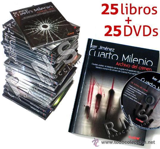 cuarto milenio colección lote 25 libros dvd - i - Kaufen Andere ...