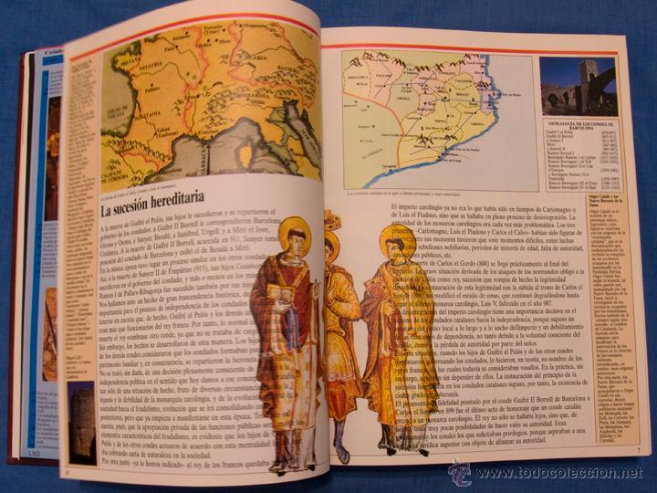Libros de segunda mano: HISTORIA DE CATALUNYA. Jordi Galofré. El Periódico, 1992, volumen encuadernado de 416 páginas - Foto 7 - 39995214