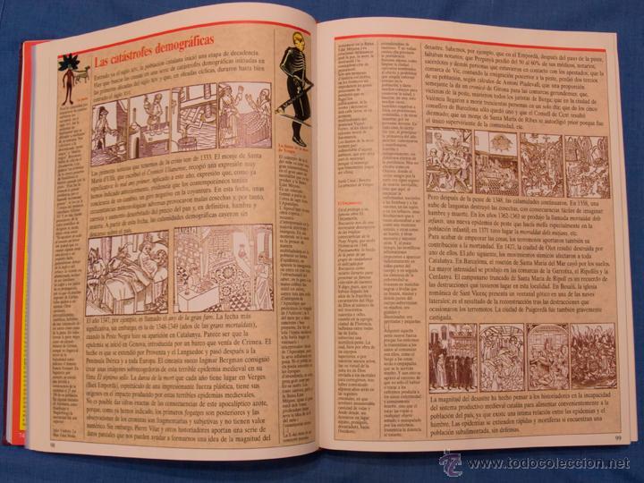 Libros de segunda mano: HISTORIA DE CATALUNYA. Jordi Galofré. El Periódico, 1992, volumen encuadernado de 416 páginas - Foto 10 - 39995214