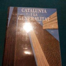 Libros de segunda mano: CATALUNYA I LA GENERALITAT - LIBRO EN CATALÀ - EDICIONS 612 - PRECINTADO. Lote 40001039