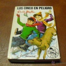 Libros de segunda mano: LIBRO:Nº 38 LOS CINCO EN PELIGRO DE ENID BLYTON AÑO 1986. Lote 40023020