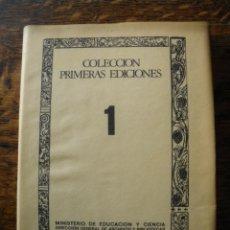Libros de segunda mano: COLECCIONES PRIMERAS EDICIONES. ORTHOGRAPHIA PRACTICA. JUAN DE YCIAR.. Lote 40026827