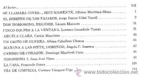 Libros de segunda mano: VARIOS AUTORES - SE LLAMABA GINÉS... SEGURAMENTE Y 10 CUENTOS MÁS (IV CONCURSO HUCHA DE ORO) - 1969 - Foto 3 - 40036478