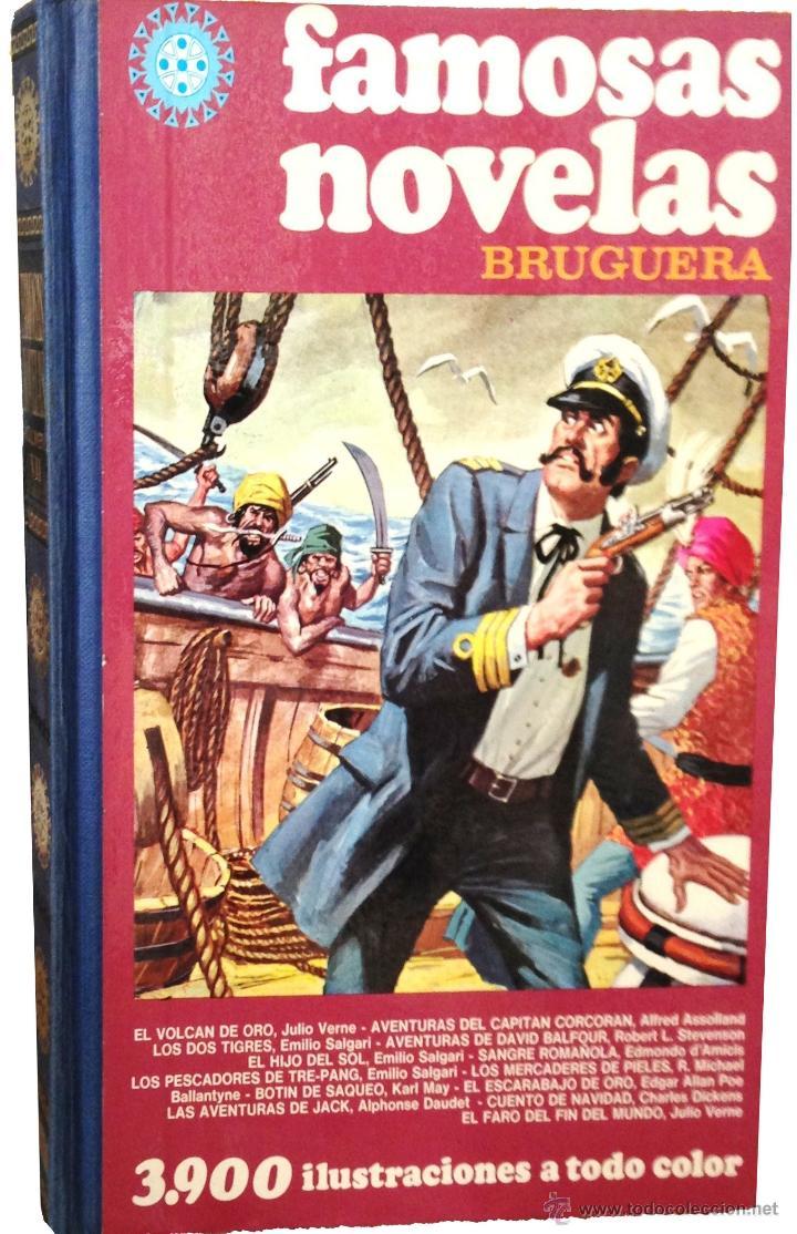 363ba678c FAMOSAS NOVELAS ILUSTRADAS ·· BRUGUERA ·· JOYAS LITERARIAS ·· JUVENIL ··  FAMOSAS NOVELAS ·· VOL. VII