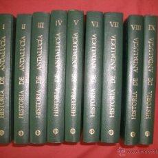 Libros de segunda mano: HISTORIA DE ANDALUCÍA CUPSA PLANETA (OBRA COMPLETA 9 TOMOS). Lote 40135799