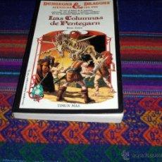 Libros de segunda mano: DUNGEONS & DRAGONS AVENTURA SIN FIN Nº 3 LAS COLUMNAS DE PENTEGARN. TIMUN MAS 1985.. Lote 40176562