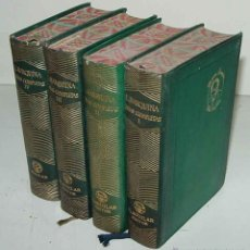 Libros de segunda mano: OBRAS COMPLETAS (EDUARDO MARQUINA) 4 TOMOS - ED. M. AGUILAR. - AÑO 1944.. Lote 38265291