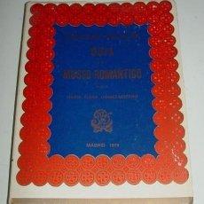 Libros de segunda mano: ANTIO LIBRO GUÍA DEL MUSEO ROMÁNTICO - GÓMEZ-MORENO (MARÍA ELENA) - 110 PÁGS., LXIV LÁMINAS. MADRID,. Lote 38265759