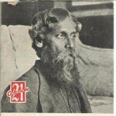 Libros de segunda mano: MEDITACIONES. 6 ENSAYOS Y 20 POEMAS INÉDITOS. RABINDRANATH TAGORE. EDI. ESCELIER S.A. MADRID. 1961. Lote 40257314