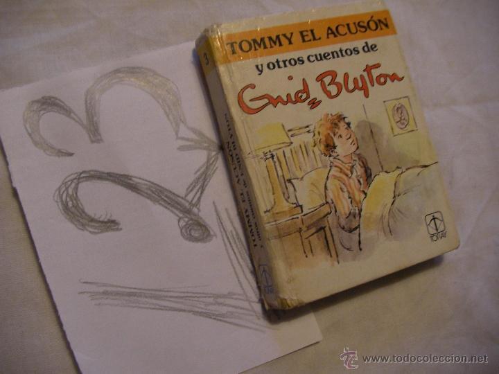 TOMY EL ACUSON Y OTROS CUENTOS - ENID BLYTON - PEQUEÑO TOMO (Libros de Segunda Mano - Literatura Infantil y Juvenil - Otros)