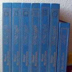 Libros de segunda mano: MANOS MARAVILLOSAS - 7 TOMOS COMPLETA - COSTURA / PUNTO / BORDADO Y LABORES FEMENINAS - 1820 PÁGINAS. Lote 40386316
