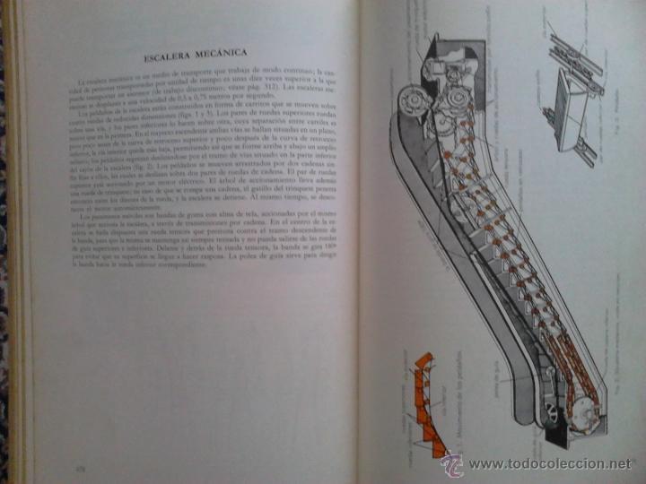 Libros de segunda mano: Enciclopedia Tècnica ilustrada ¿Còmo funcionan? Editorial Planeta 1969 Fournier Vitoria - Foto 5 - 40438490