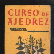 Libros de segunda mano: CURSO DE AJEDREZ POR E.LASKER. EDICIONES ORBE, HABANA. 1961. Lote 40457661