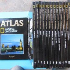 Libros de segunda mano: ATLAS NATIONAL GEOGRAPHIC. 14 VOLUMENES, 2004.. Lote 40519503
