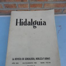 Libros de segunda mano: HIDALGUIA. Lote 40591652