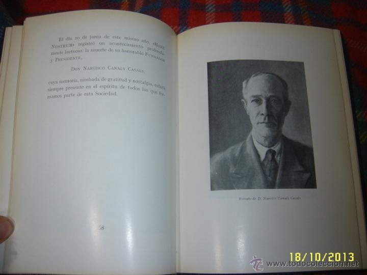 Libros de segunda mano: MARE NOSTRUM.25 ANIVERSARIO. 1ª EDICIÓN 1967.UNA AUTÉNTICA RAREZA.UNA JOYA!!!!. - Foto 12 - 125867498