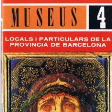 Libros de segunda mano: FOLLETO - MUSEUS - 4 - VIC - OSONA - 31 PAG.. Lote 40606327