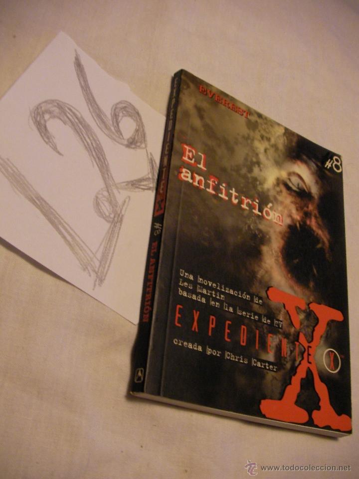 EL ANFITRION - EXPEDIENTE X - ENVIO GRATIS A ESPAÑA (Libros de Segunda Mano - Parapsicología y Esoterismo - Otros)