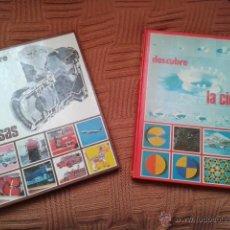 Libros de segunda mano: PACK LIBROS JUVENILES DESCUBRE LA CIENCIA Y DESCUBRE LAS COSAS, 1977 ALFREDO ORTELLS EDITORIAL. Lote 40672373