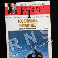 Libros de segunda mano: LOS ENIGMAS PENDIENTES - BIBLIOTECA ESPACIO Y TIEMPO - MISTERIO MAPAS CIVILIZACIONES ETC - LIBRO. Lote 40725603