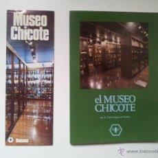 Libri di seconda mano: EL MUSEO CHICOTE. F. CARLOS SAINZ DE ROBLES. RUMASA. 1982. Lote 40746990